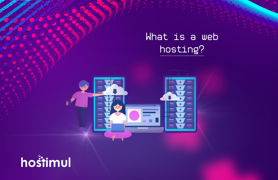What is a web hosting?