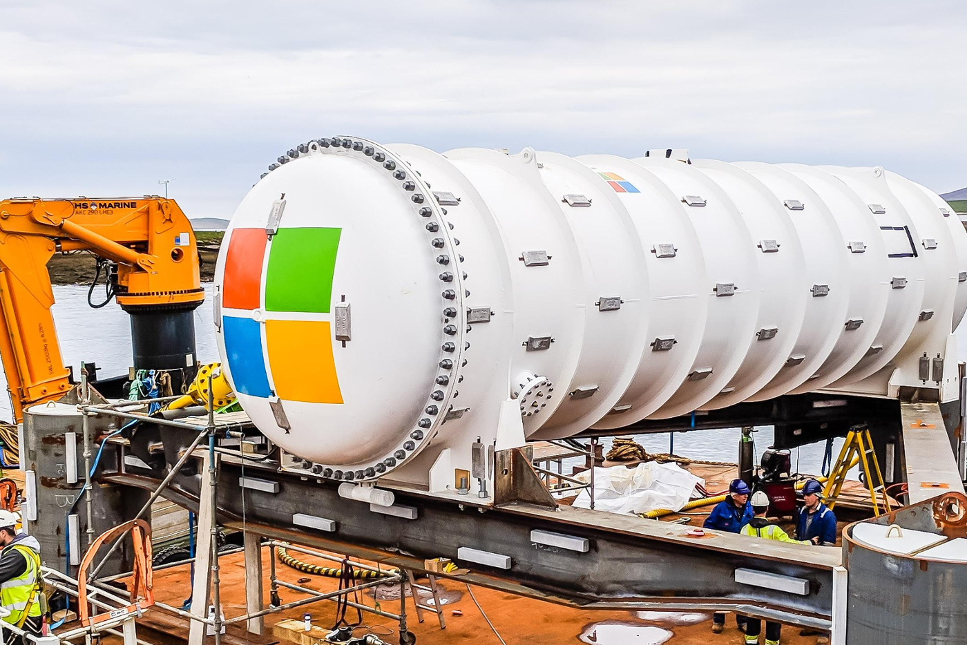Microsoft put data centers at the bottom of the ocean