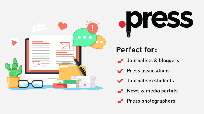 .Press domain with cheapest prices | Hostimul.com