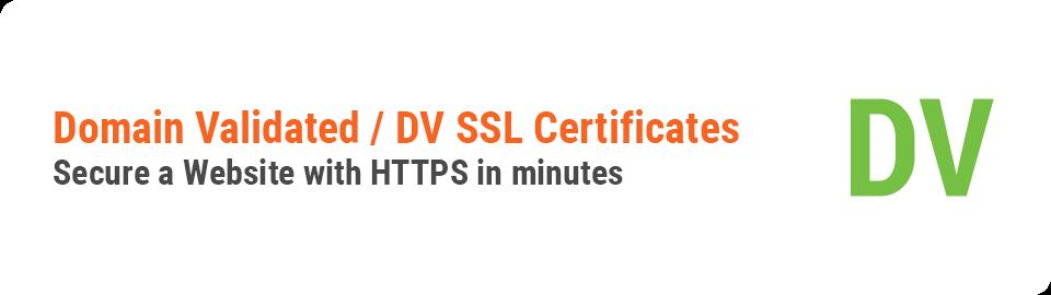 Standard SSL DV